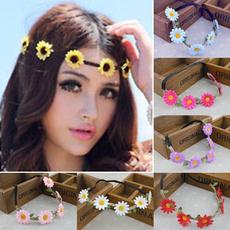 bohemia, Flowers, hippie, Chain