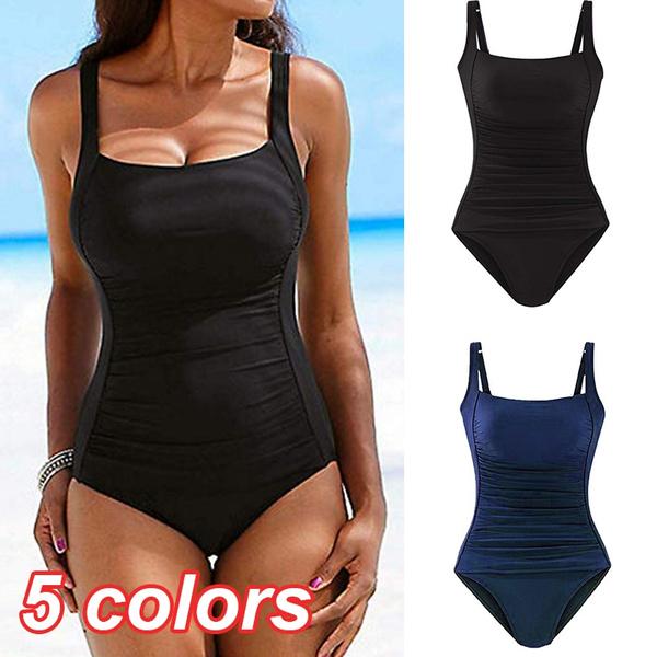 One Piece Swimsuits, push up swimsuit, beach wear, Swimwear