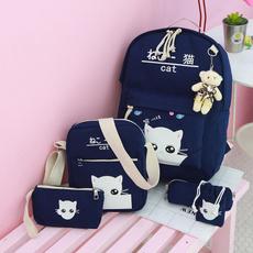women's shoulder bags, womanshoulderbag, School, women backpack
