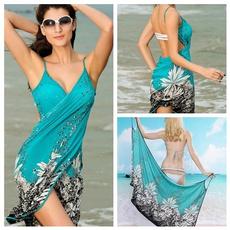 Women, Fashion, Swimming, Dress
