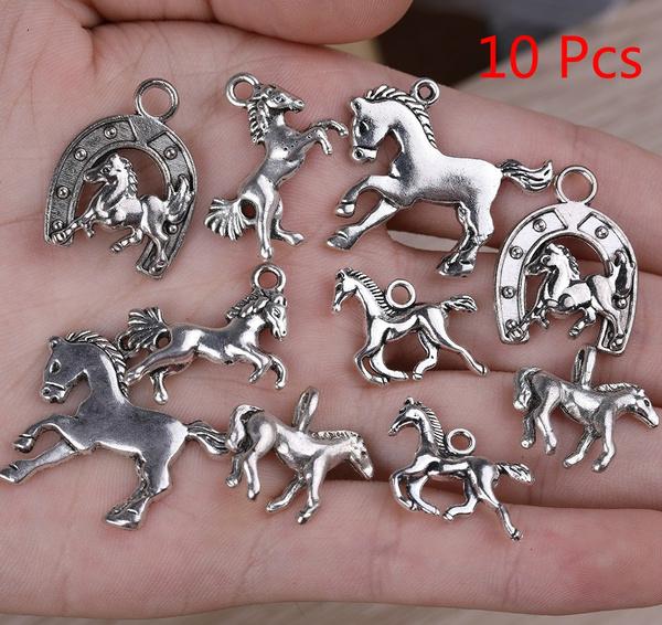 Tibetan Love Connectors Antique Silver 10 x 33mm  10 Pcs AFindings DIY Jewellery
