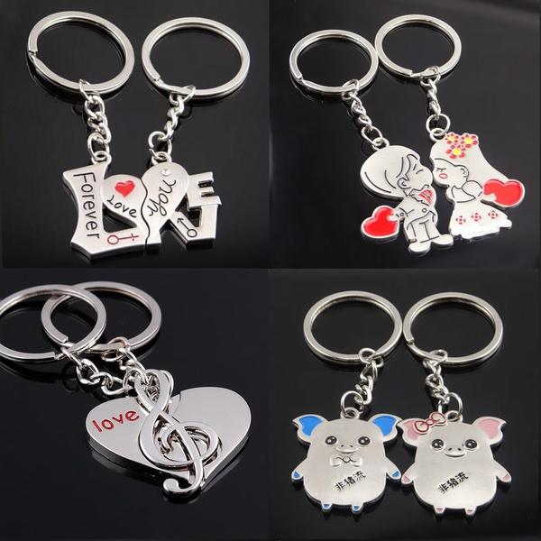 lovemusickeyring, Heart, Key Chain, Jewelry