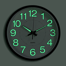 silentdeskclock, Fashion, luminousclock, nightwallclock
