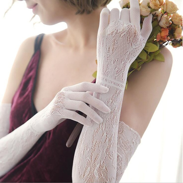 Summer, evening, Cosplay, Lace