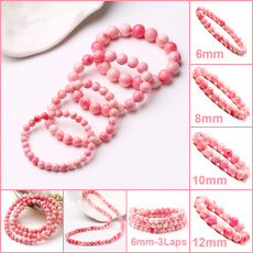 pink, 8MM, shells, Natural