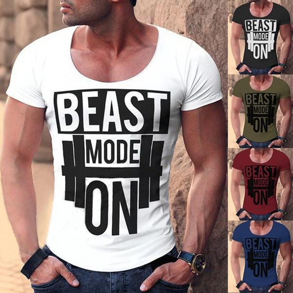 Shorts, Cotton, Shirt, letter print