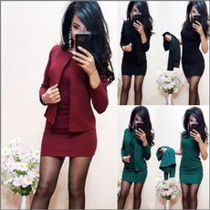 businesssuit, sleeveless, Necks, Dresses