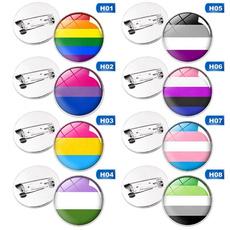 rainbow, lgbtpride, Jewelry, Pins