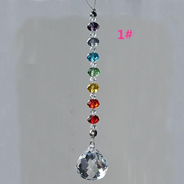 Jewelry, 7chakra, hangingcrystal, Birthday Gift