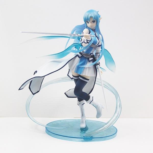 art, asunayuukiwaterspiritkiritoasunafigure, animeswordartonline, sword