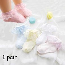 Summer, Cotton Socks, babysock, Lace