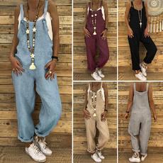 Summer, harem, Plus Size, pants