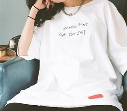 girlpower, feministtshirt, Fashion, letter print