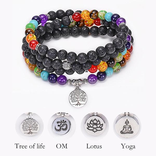 Beaded Bracelets, prayerbracelet, buddhabracelet, Jewelry
