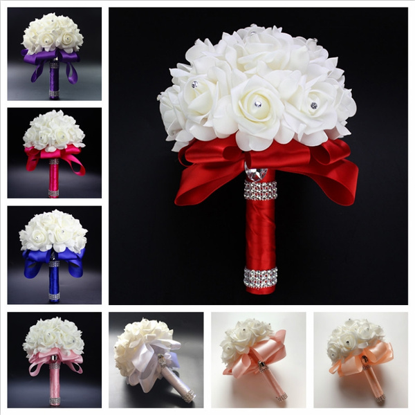 Beautiful, Ivory, Flowers, Romantic