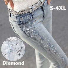 DIAMOND, skinny pants, pantsforwomen, pantalone