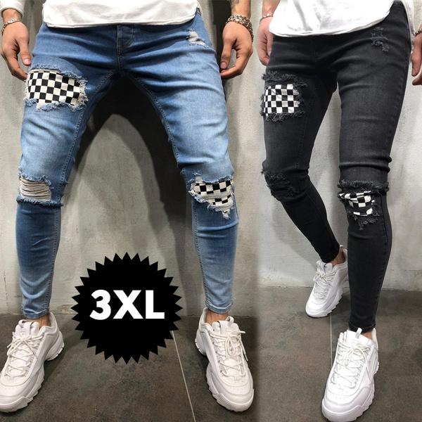 jeansformen, kneehole, pants, rippedjean