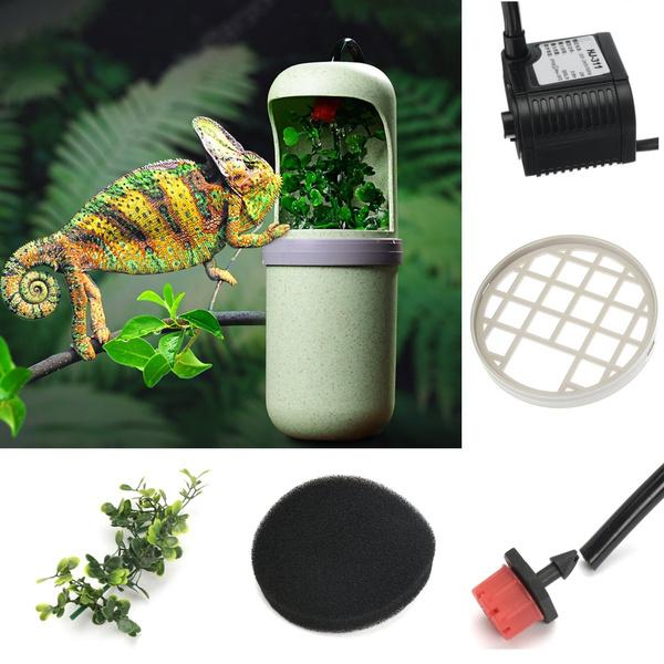 reptiledrinkingwaterfountain, reptiledispenser, lizardaccessorie, lizardfeeder
