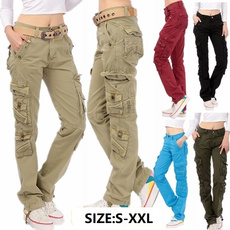 trousers, women trousers, pants, Cargo pants