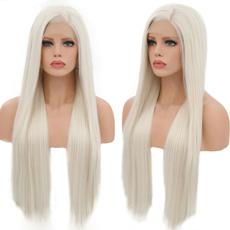 wig, blondecurlywig, Lace, wigsforwomen