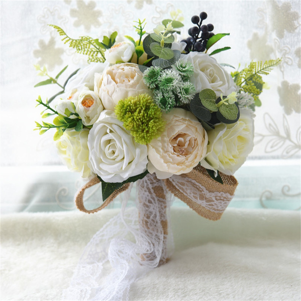 Flowers, Romantic, Bride, Wedding Supplies