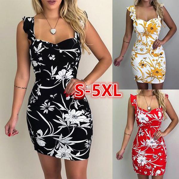 sleeveless, slim, sundress, Dress