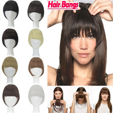 bangswig, wig, Hairpieces, clip in hair extensions