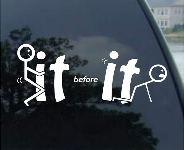 Funny, Cars, Stickers, Decal