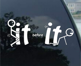 Funny, Carros, Stickers, Decal