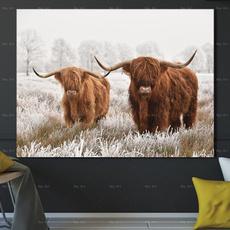 abstractcanva, art, homepainting, cow