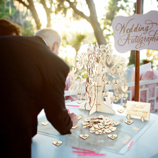 Wood, weddingvisitbook, graduationdecorat, Heart