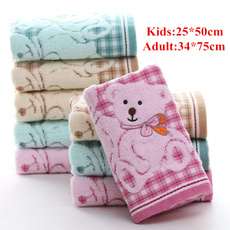 Cotton, Bathroom Accessories, babytowel, kidtowel