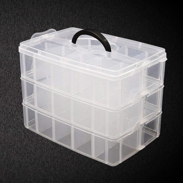 case, Box, beadscase, desktoporganizercase