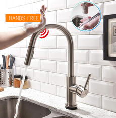 Steel, kitchenfauect, Faucets, nickel