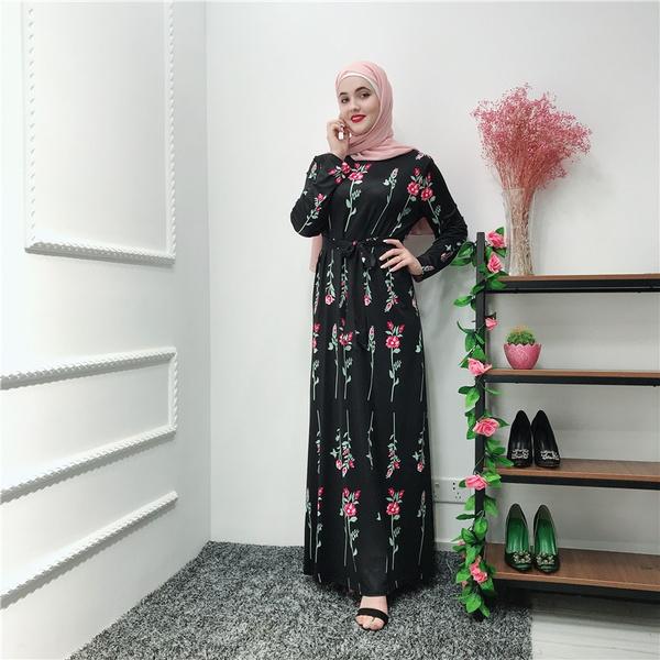 Summer, womenfloraldres, muslimabayadres, Rose