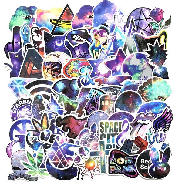 Star, starsticker, Waterproof, Stickers