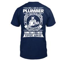 Mens T Shirt, Gifts, 100cotton, plumberheatingengineerwaterheaterplumbing