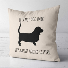 hair, Gifts, Pets, bassethoundpillow
