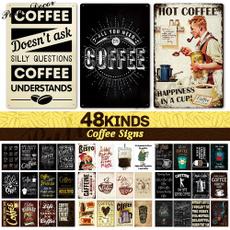 Coffee, Cafe, funnycoffeesign, cafedecor