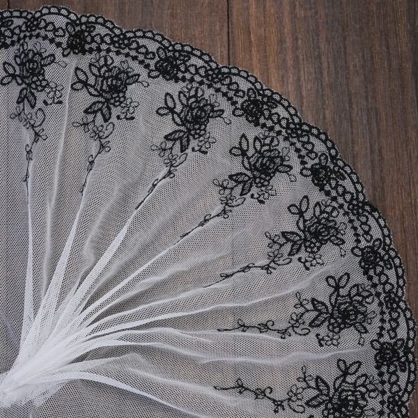 lace trim, laceedge, Flowers, dollyarn