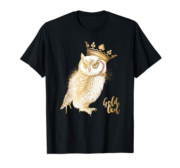 Owl, Fashion, owlcottontshirt, Shirt