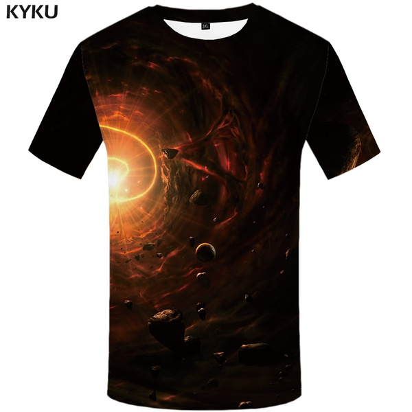 Fashion, lightningtshirt, blackholetshirt, Shirt