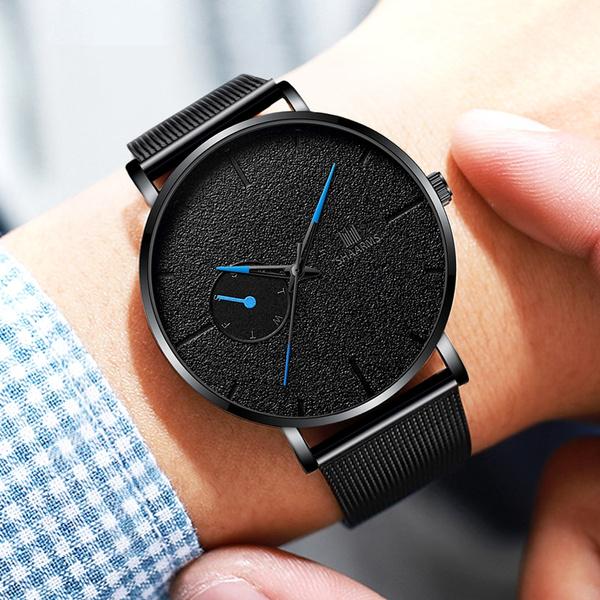 Steel, military watch, Waterproof Watch, business watch