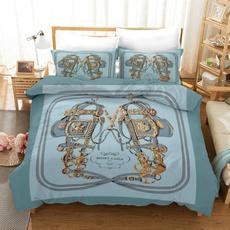 3pcsbeddingset, bedclothe, Home & Living, Bedding