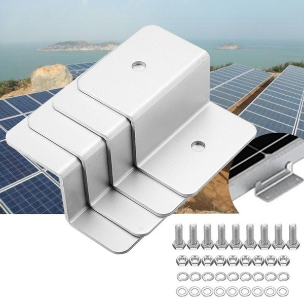 mountingset, rv, 4 PC, solarpanel