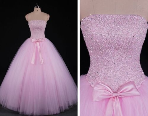 pink, gowns, sweetheart, Corset