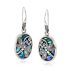 Sterling, dragon fly, Jewelry, women earrings