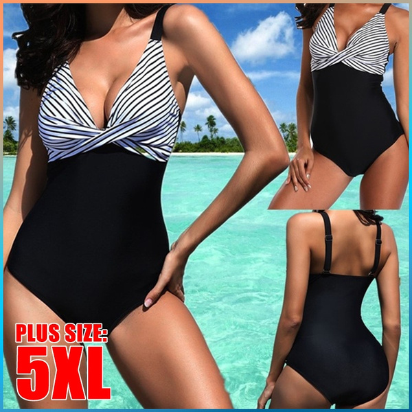 beach wear women, Summer, Plus Size, push up swimsuit