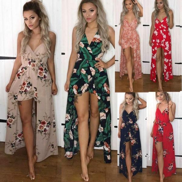 bohemia, sleeveless, Shorts, Rose
