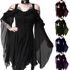 Dark, Goth, Plus Size, Cosplay